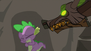Timberwolf taunting Spike S3E9