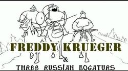 Freddy Krueger vs Three Russian Bogaturs (animation)