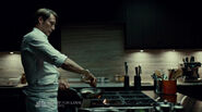 Hannibal cooking his food