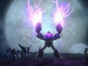 Unicron uses powers