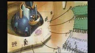 Megaman X4 Megaman X and Zero Story Cutscene 2