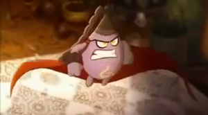 Egg Witch very angry