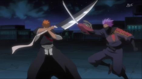 File:468px-Ichigo and Hanza clash.png