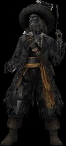 Cursed Captain Barbossa (Kingdom Hearts)