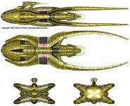 Vorlon cruiser