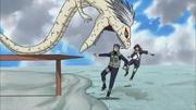 Transformed Kabuto took Yamato