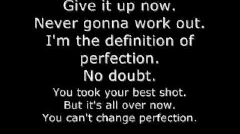I Am Perfection- Cage 9 (Lyrics)