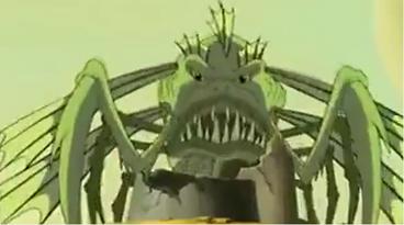 Merman's Giant Monster Fish