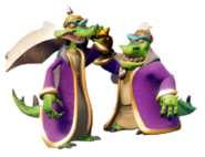 Komodo Brothers (Crash Bandicoot N. Sane Trilogy)