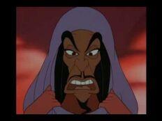 Jafar's transformation into Jasmine