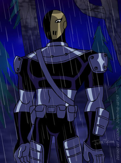 Slade from Teen Titans by john the