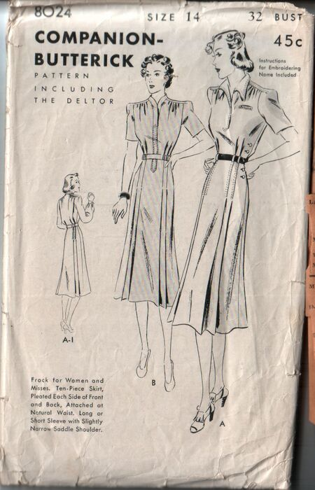 Butterick 8024 front