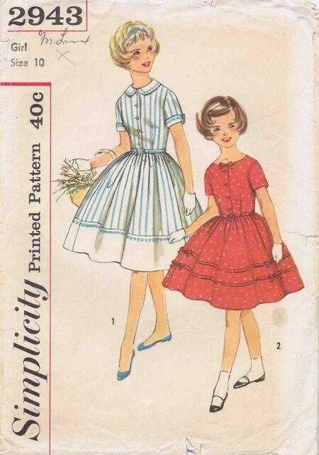 Simplicity 1959 2943