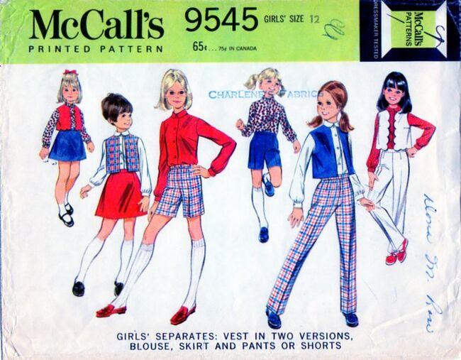 McCalls.9545.front