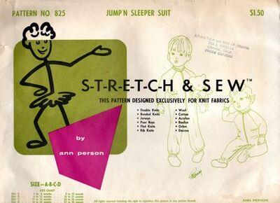Stretch & Sew 825