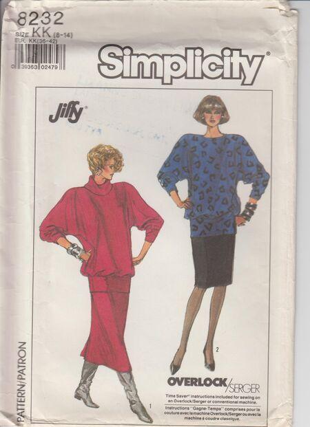 Simplicity 8232