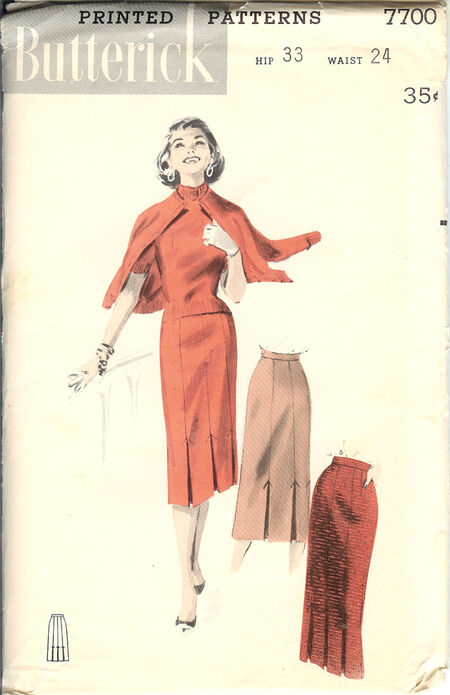 Butterick 7700 image