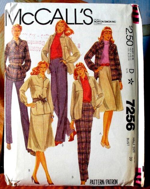 McCalls 7256 image