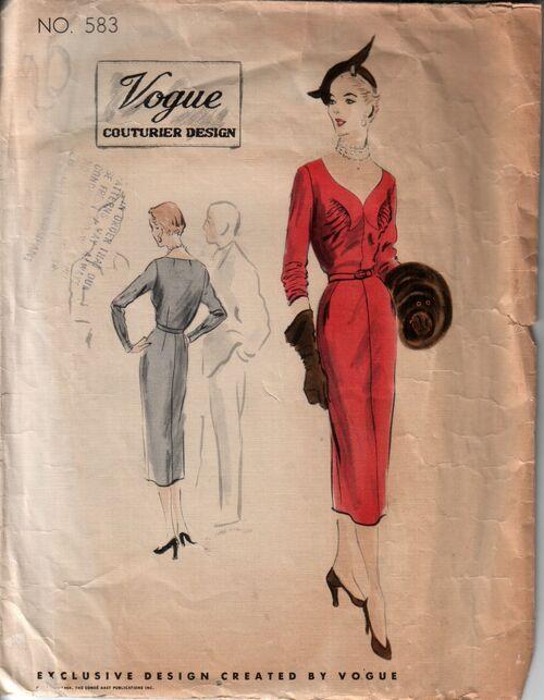Vogue 583 front