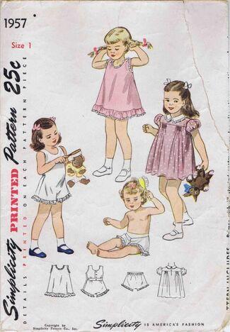 Simplicity 1947 1957