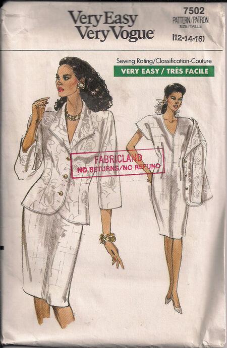 Vogue 7502