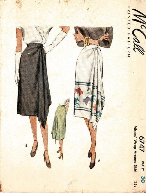 Mccalls6747skirt