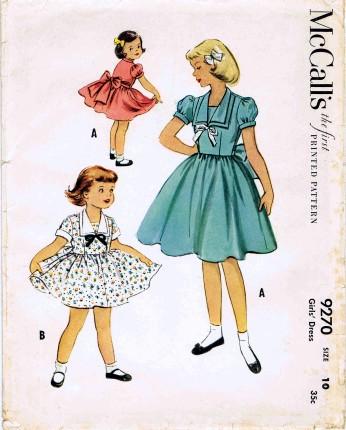 McCalls 1953 9270