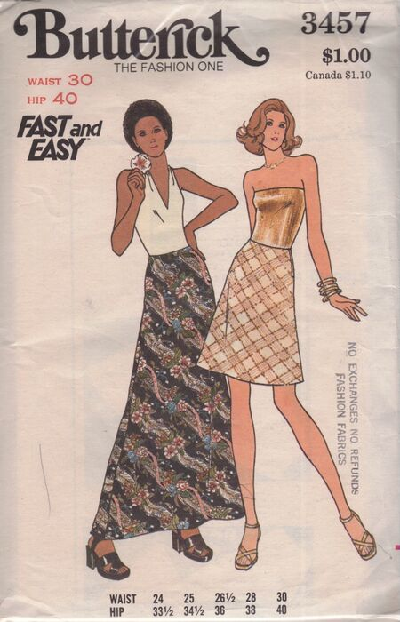 Butterick 3457 image