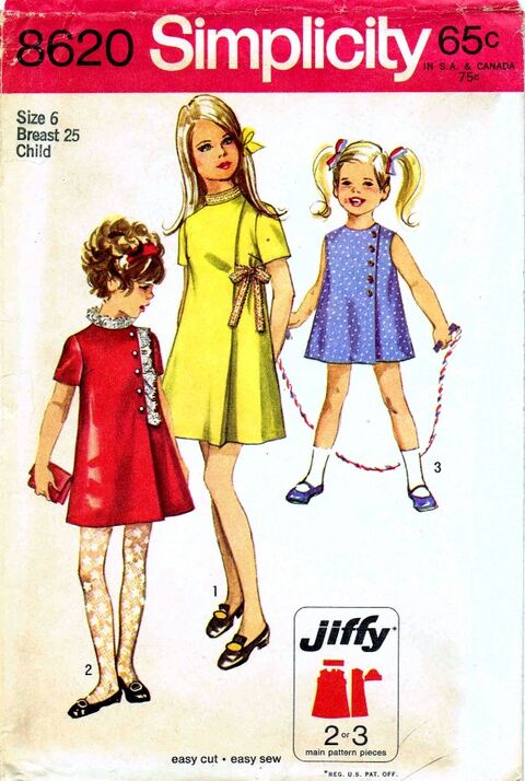 Simplicity 1969 8620