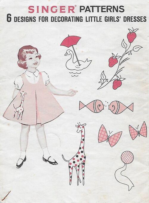 Singer Pattern 6 designs