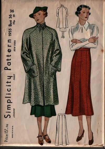 Simplicity 1955 front