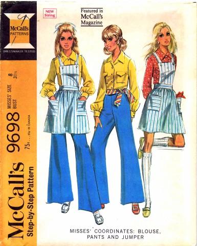 McCalls 1969 9698
