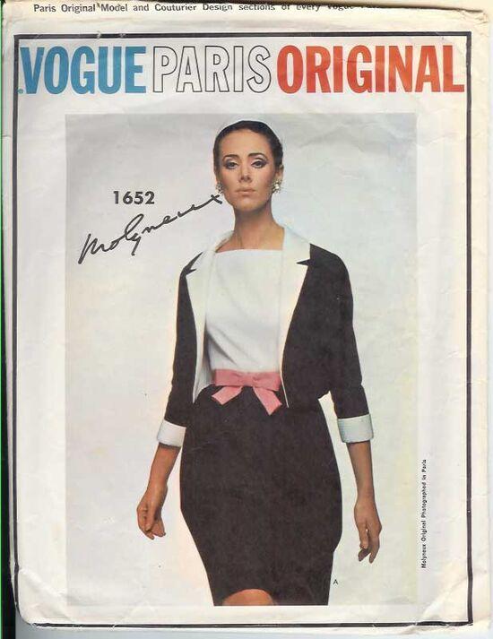 W-1652V 1960s Molyneux-Suit