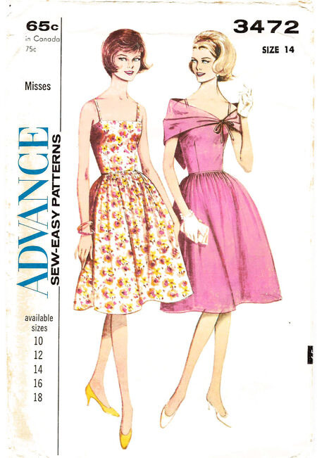 1964 Sundress & stole env cropped