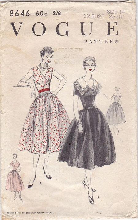 Pattern - Vogue 8646 02
