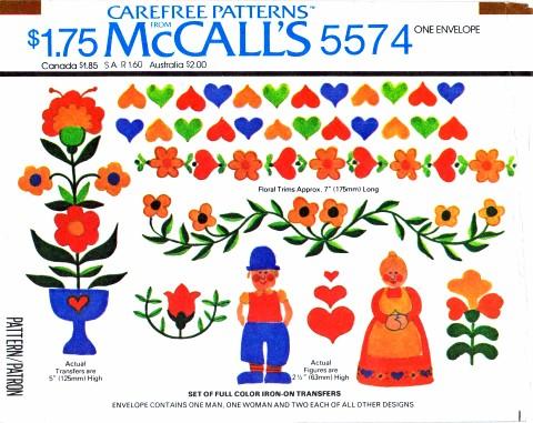 McCalls 1977 5574
