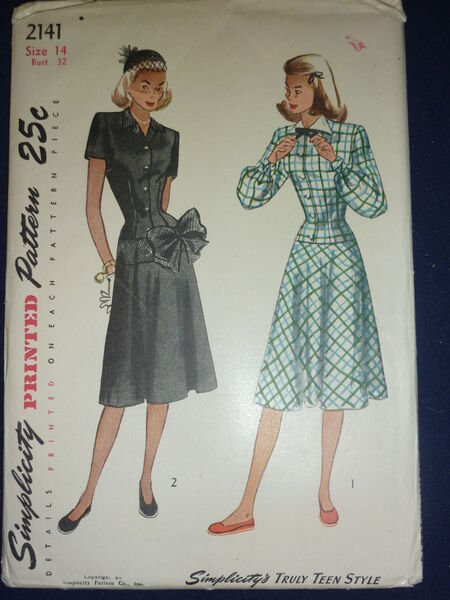 Simplicity 2141 A; 1947