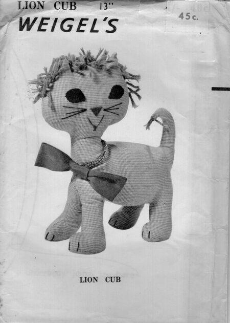 Weigels children lion cub