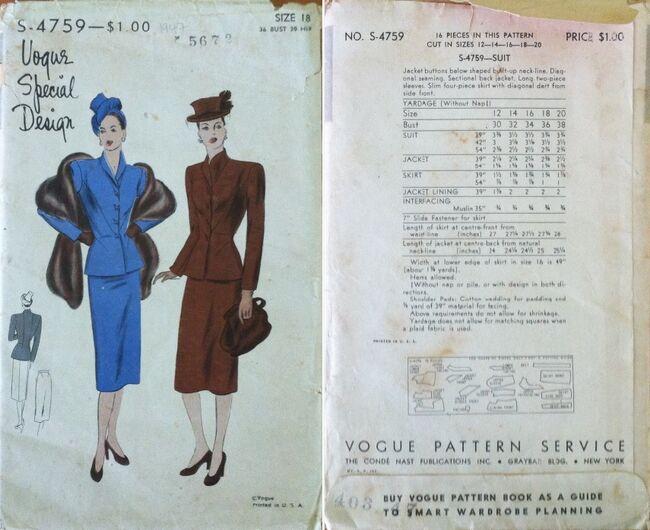 Vogue S4759