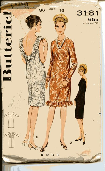 Butterick 3181 image