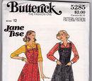 Butterick 5285 A