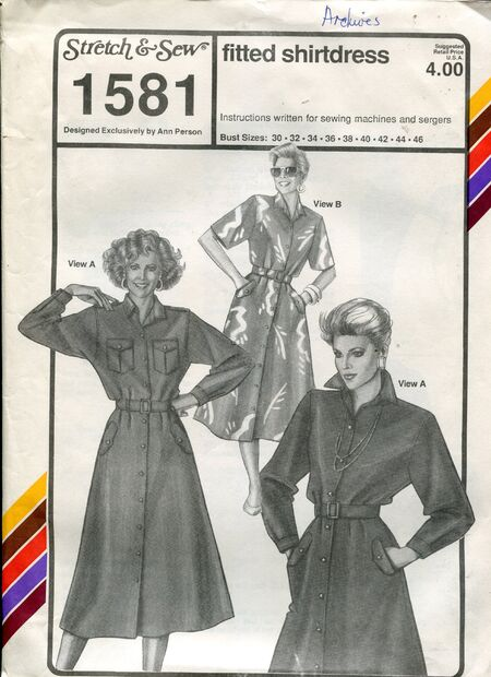 Stretch&sew1581shirtdress