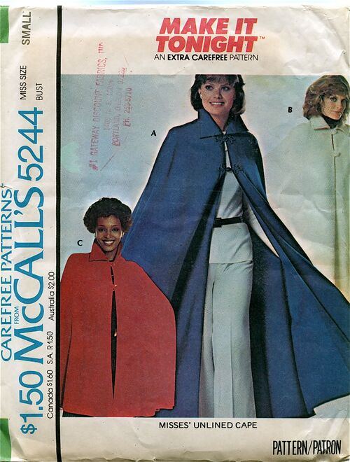 McCalls 5244 Sewing Pattern at Design Rewind Fashions on Etsy a