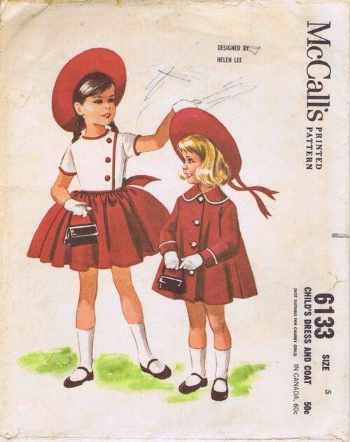 McCalls 1961 6133