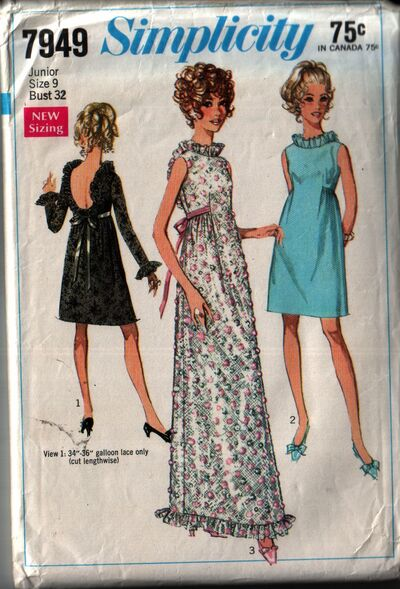 Simplicity 7949 front