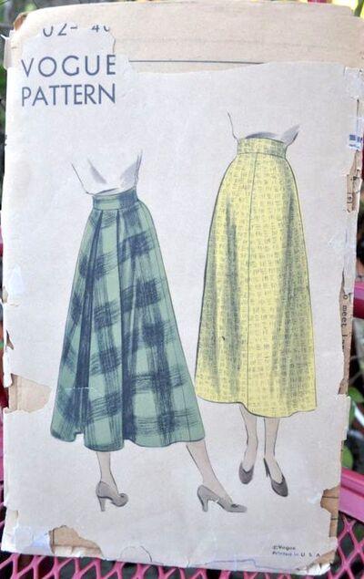 Vogue 6072 skirts
