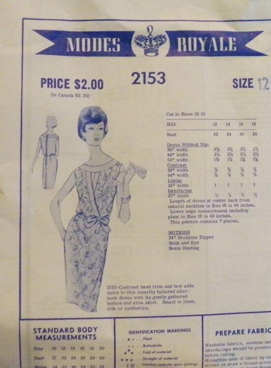 Modesroyale 2153 -1960s