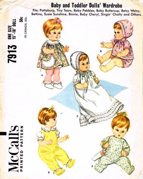 McCalls 1965 7913