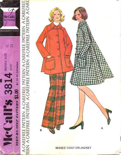McCalls 1973 3814