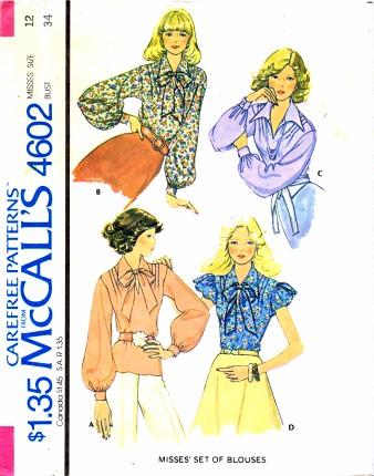 McCalls 1975 4602